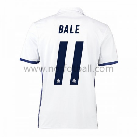 Billige Fotballdrakter Real Madrid 2016-17 Bale 11 Hjemme Draktsett Kortermet