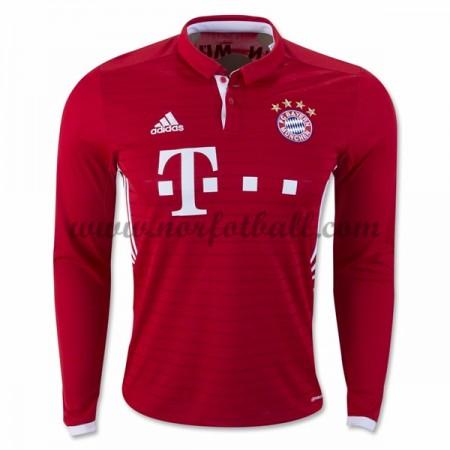 Billige Fotballdrakter Bayern Munich 2016-17 Hjemme Draktsett Langermet