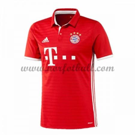 Billige Fotballdrakter Bayern Munich 2016-17 Hjemme Draktsett Kortermet