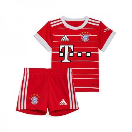 Billige Fotballdrakter Bayern München Barn 2018-19 Hjemme Draktsett Fotball Kortermet
