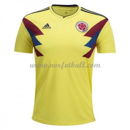 Colombia 2018 Landslagsdrakt Kortermet Hjemme Fotballdrakter