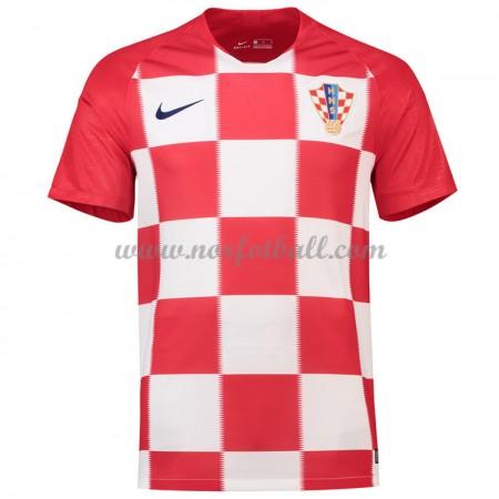 Kroatia 2018 Landslagsdrakt Kortermet Hjemme Fotballdrakter
