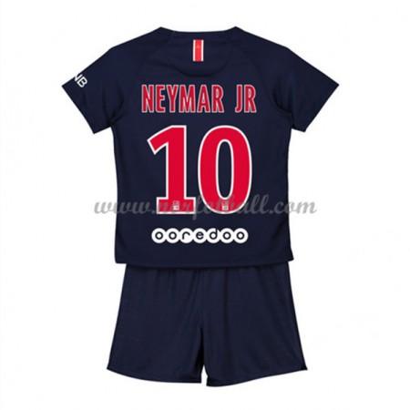 Billige Fotballdrakter Paris Saint Germain PSG Barn 2018-19 Neymar Jr 10 Hjemme Draktsett Fotball Kortermet