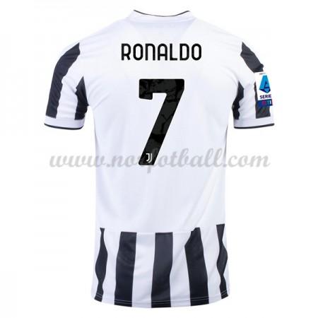 Billige Fotballdrakter Real Madrid 2017-18 Cristiano Ronaldo 7 Hjemmedrakt Kortermet