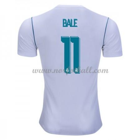 Billige Fotballdrakter Real Madrid 2017-18 Gareth Bale 11 Hjemmedrakt Kortermet
