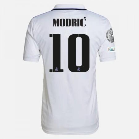 Billige Fotballdrakter Real Madrid 2018-19 Modric 10 Hjemmedrakt Kortermet