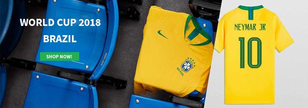 Brasil VM drakt 2018